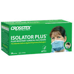 Crosstex Isolator+ N95 Particulate Respirator Mask 28/box Made In Usa Exp 10/25