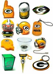 Green Bay Packers Nfl Football Mini Gumball Vending Novelty Collectable U Pick