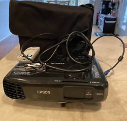 Epson Powerlite Ex5220 Wireless 3lcd Projector + Remote + Usb Wifi Connect