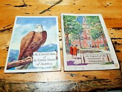Vintage Rare Historical Paper Books History Our Rights Lost World United States