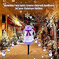 8ft Christmas Decorations Built-in Led Outdoor Yard Lawn Lighted For Holiday