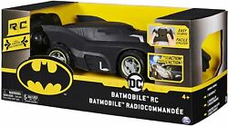 Batman Batmobile Remote Control Rc Vehicle 120 Scale For Kids Aged 4+ Easy To