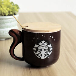 Starbucks Forest Animal Coffee Cup Squirrel Mug Limited Gift Ceramic Cup Milkcup