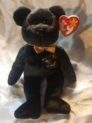 Ty Beanie Baby The End Bear - Retired With Errors -1999