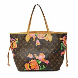 100 Auth Louis Vuitton Neverfull Mm Rose Limited Edition
