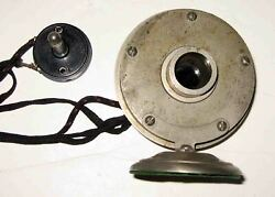 Early Western Electric July 1918 Patented Battery Radio Speaker Horn Driver