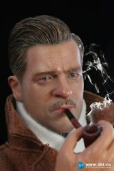 Did F80078 1/6 World War Ii. French Resistance Brad Pitt With Bike Action Figure