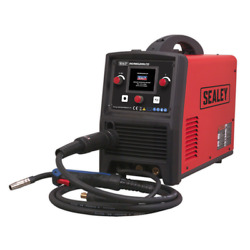 Inverter Welder Mig, Tig And Mma 200amp With Lcd Screen Sealey Invmig200lcd By S