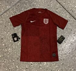 England National Team Nike Football Soccer Jersey Youth Large New With Tags