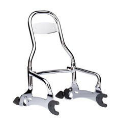 Indian Motorcycle Chrome Quick Release 12 Passenger Sissy Bar 2014-2018 Chief