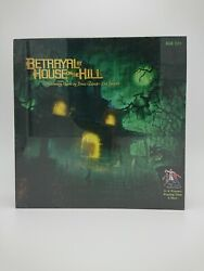 Betrayal At House On The Hill Board Game - 2nd Edition - New Sealed