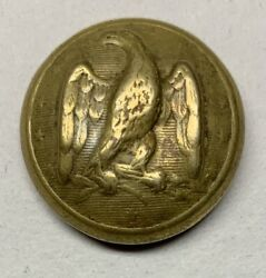 Confederate Local Army Officers Civil War Coat Button