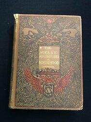 The Merry Adventures Of Robin Hood By Howard Pyle 1883 1st Edandnbsp Vg Condition Rare