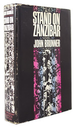 Stand On Zanzibar By John Brunner Authorand039s Copy First Edition