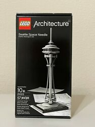 Lego 21003 Architecture Seattle Space Needle New In Box Retired