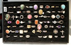925 Silver Ring Wholesale Lot