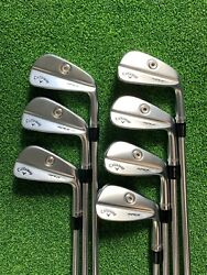 Callaway Apex Mb Forged And03921 Iron Set 4-pw Steel Stiff [choose Your Shaft]