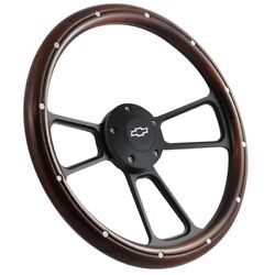 Chevy Pick-up Truck 1995 To 2001 Real Wood Steering Wheel Kit Silverado C10 Ck