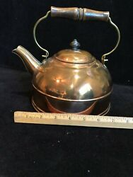 Revere Ware Copper Tea Kettle Pot With Lid8 Highrome New York