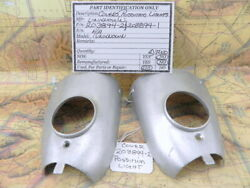 Aircraft Position Light Cover / Shield P/n 203894 1 And 203894 2