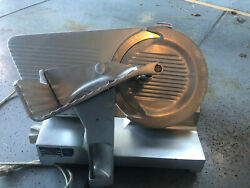 Berkel 829 Manual Commercial Feed Meat Slicer With Blade