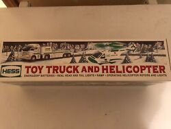 2006 Hess Toy Truck And Helicopter  100 Mint-in-box