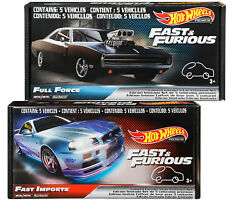 Hot Wheels Fast And Furious Premium Fast Imports And Full Force You Choose