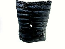 Totes Women#x27;s Cayman Waterproof Tall Winter Snow Boot Black US Size 8.5 M $40.00