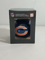 Nfl Chicago Bears Mercury Glass Ball Ornament Evergreen Discontinued