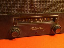 Timothyarts Presents 1956 Silvertone Record Player Tube Ampmade In Usa Radio