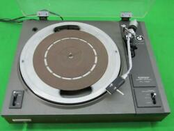 Pioneer Vintage Turntable Record Player Model Pl-112d For Parts Or Repair
