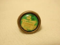 Vintage Mickey Mouse Standard Gasoline Gumball Prize Toy Ring