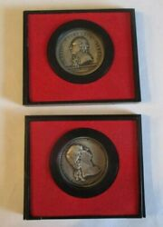 Us Mint America's First Medals General Horatio Gates And Washington Before Boston