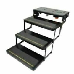 Lippert 369552 Kwikee 25 Series Triple Electric Folding Step With 9510 New