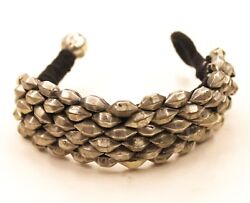 Antique Bracelet Bangle Jewelry Handmade Halloween Gifts Silver Indian Jewelry