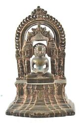 Vintage Lord Buddha Statue Brass Handcrafted Unique Indian Idol Home Dandeacutecor Art