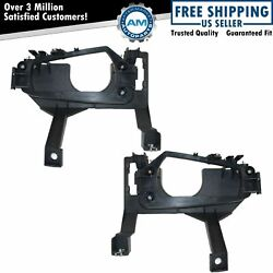 Headlight Headlamp Mounting Brackets Left And Right Pair Set For 93-97 Intrepid