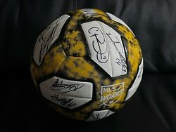 Seattle Sounders 2019 Mls Cup Champions Game Used Match Ball Signed Adidas Kcc