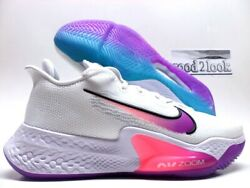 Nike Air Zoom Bb Nxt White/hyper Violet-white Size Menand039s 11.5 [ck5707-100]