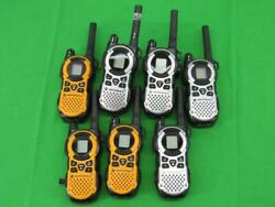 Lot Of 7 Motorola Talkabout Mt350r Two Way Radio Hand Set Untested For Parts
