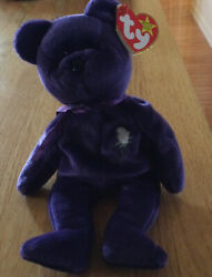 Princess Diana Beanie Baby Rare 1st Edition-mint Condition-time Magazine12/22/97
