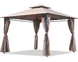 Canopy Tent Gazebo 10and039 X 13and039 Grill Gazebo For Patios Bbq Outdoor Patio Large