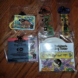 1999 Long John Silvers Land Before Time Set Of 5 Bookmarks And More Look - Nip