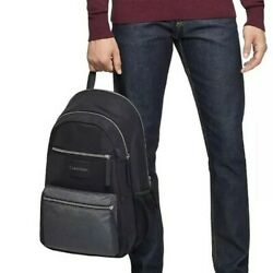 $139 NWT Calvin Klein CK Byron Travel Light Backpack 13quot; Laptop Bag Black $39.99