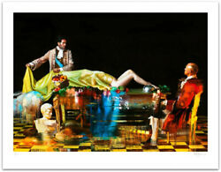 Conor Harrington The Unveiling Print Signed