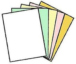Limited Paperstm Ncr Paper, Carbonless Sheets, Superior, Pre Collated, Multi P