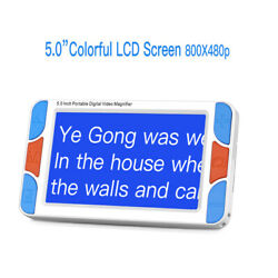 Eyoyo Digital 5and039and039 Handheld Electronic Video Magnifier Read Aids Tools Zoom Rate