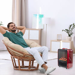 Room Warm Portable Electric Fireplace Heater Livingroom Portable Free Standing