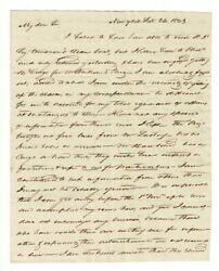 Four Letters From Merchants To Edward Spaulding Shipping Agent Maztanzas Cuba