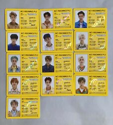 Nct 2020 Resonance Pt.2 Departure Version. Official Id Card Photo Cards Select